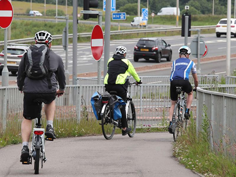 Cycling network map now online
