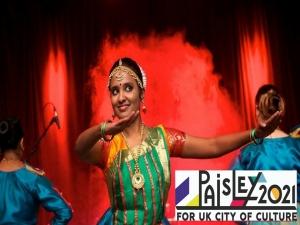 Indian Classical Dance: Bharatanatyam Beginners Paisley