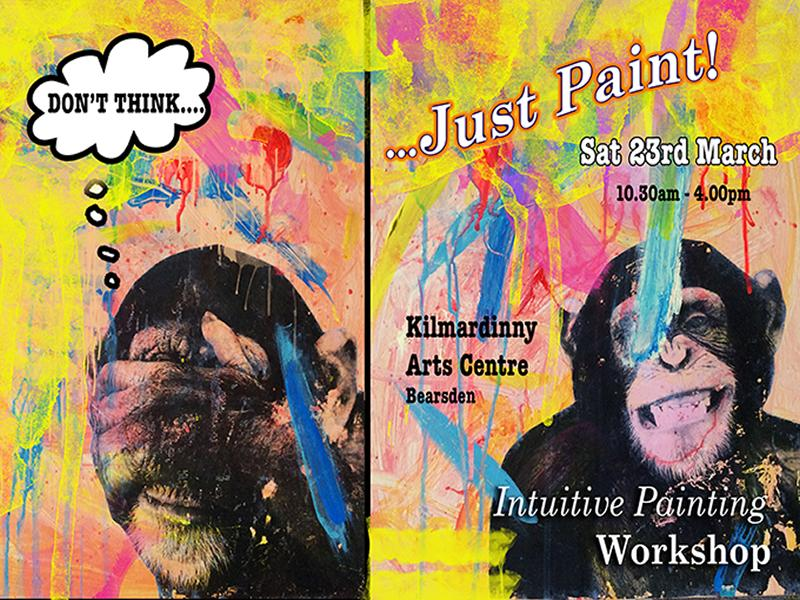 Don't THINK... Just Paint! Intuitive Painting