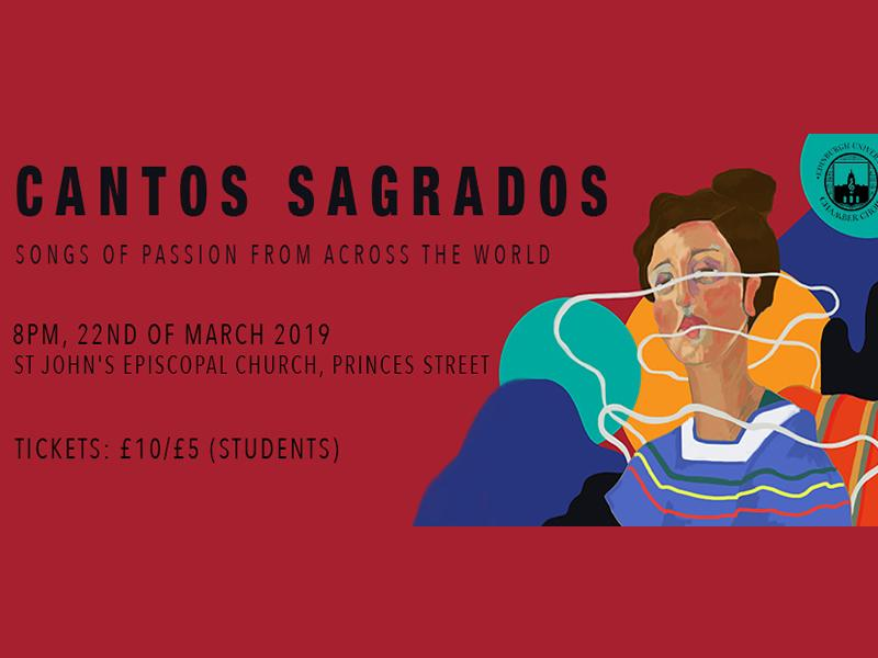 Cantos Sagrados: Songs of Passion from Across the World. Edinburgh University Chamber Choir