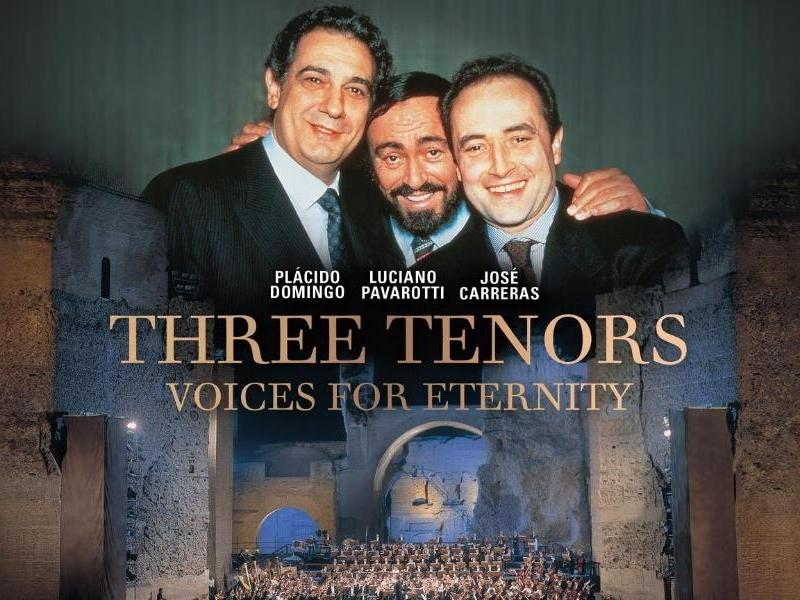 Three Tenors - Voices For Eternity - POSTPONED