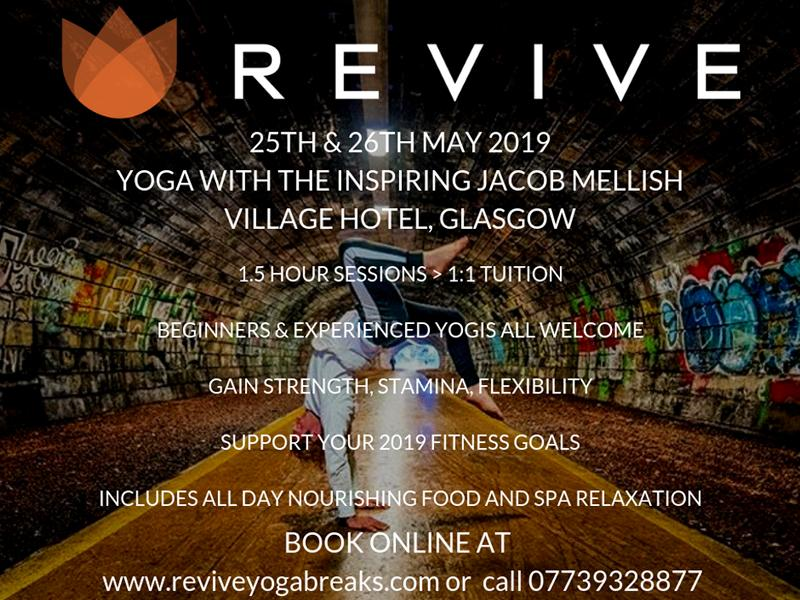 Revive Yoga Day With Jacob Mellish