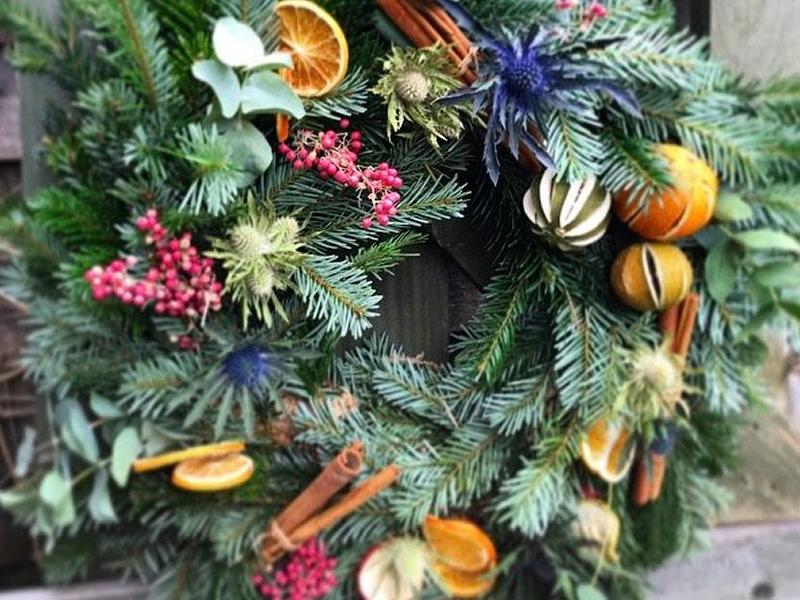 Christmas Wreath Making Workshop with Bloemen Florist