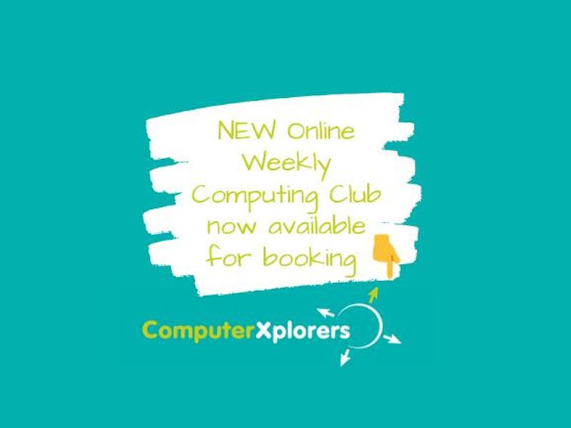 Weekly Online Computing Club for Kids