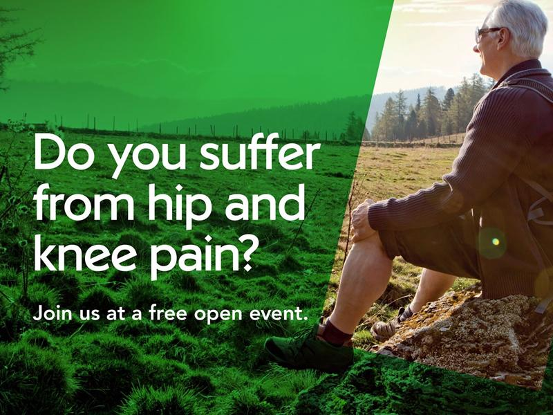 Hip and Knee Pain Information Event