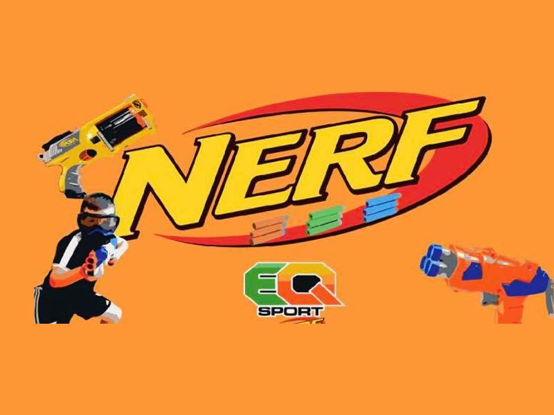Stirling Inservice Day:  Fortnite Themed Nerf Wars