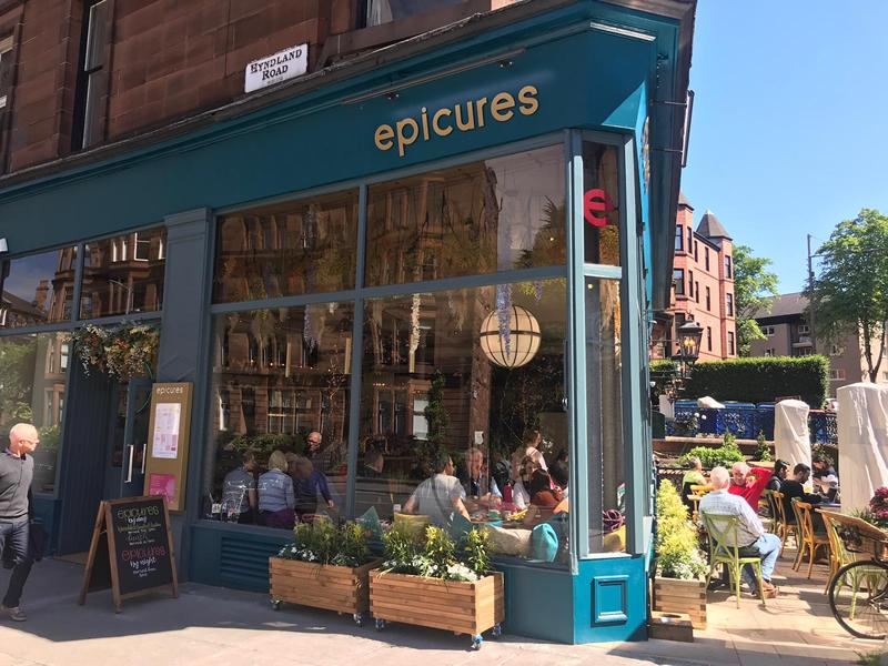 Hyndland hotspot epicures joins forces with Cail Bruich