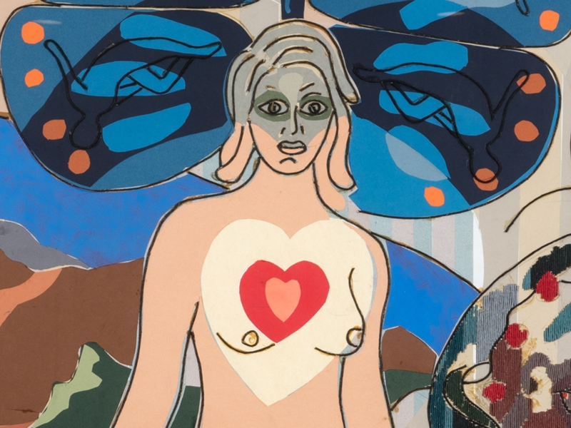 Love, an exhibition of twelve pieces of work by celebrated artist Steven Campbell will open at Tramway on January 20th