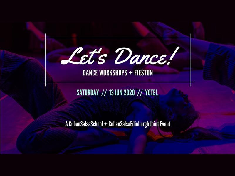Let's Dance! Workshops + Fieston