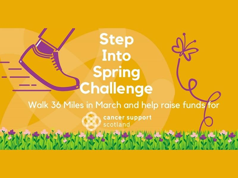 Step Into Spring for Cancer Support Scotland