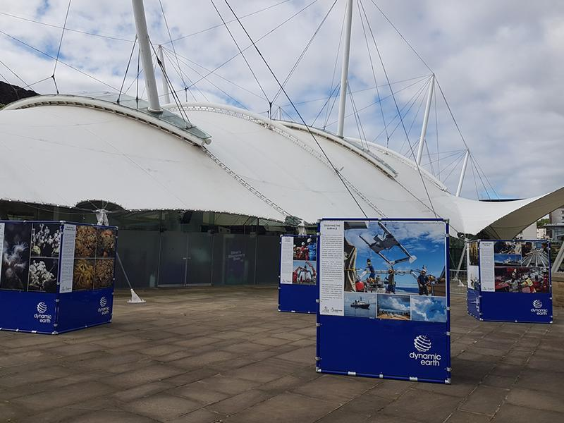 Discovering the Deep Outdoor Exhibition