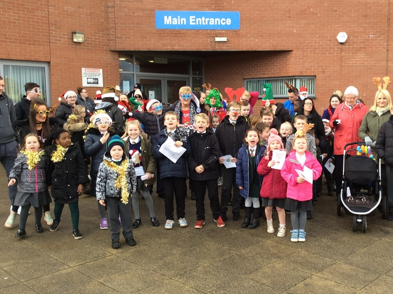 Jingle Bell Mile is a walk in the park for Johnstone pupils