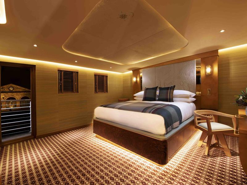 A luxury floating hotel in Edinburgh crowned Best Newcomer