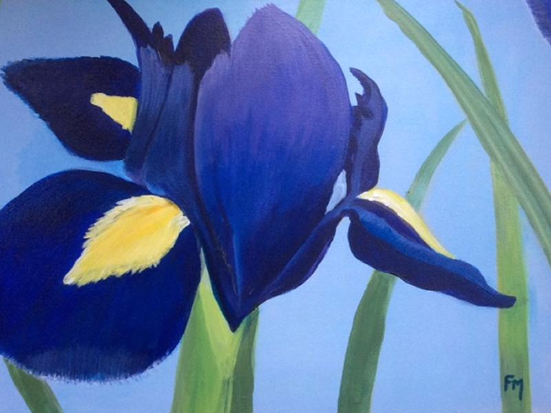 'Iris' Paint n Sip Mothers Day