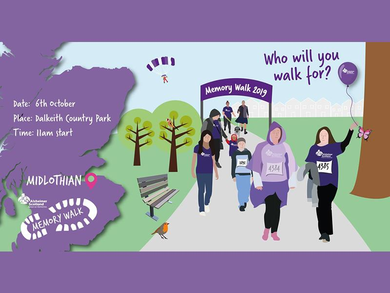 Alzheimer Scotland - Midlothian Memory Walk
