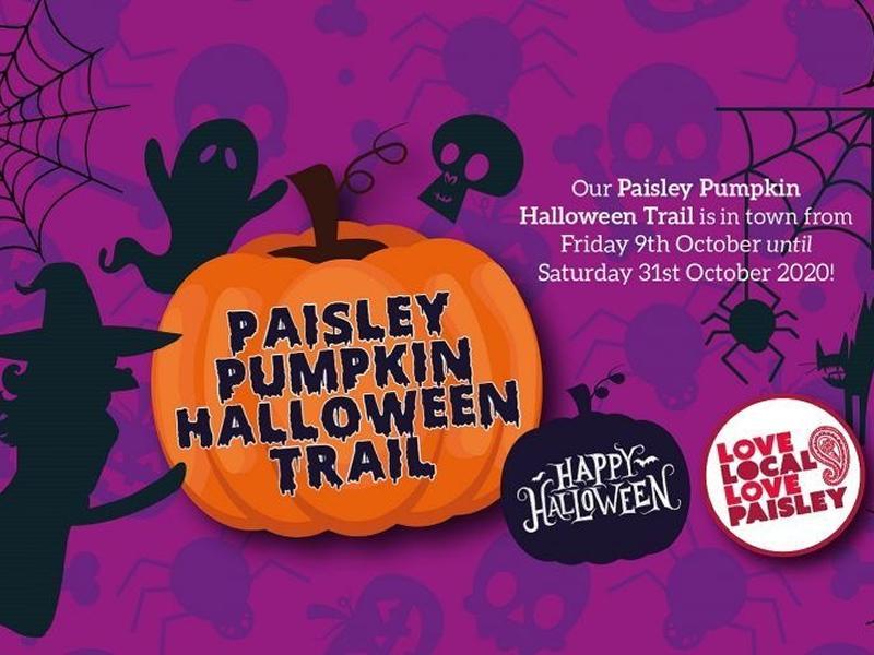 Paisley Pumpkin Halloween Trail