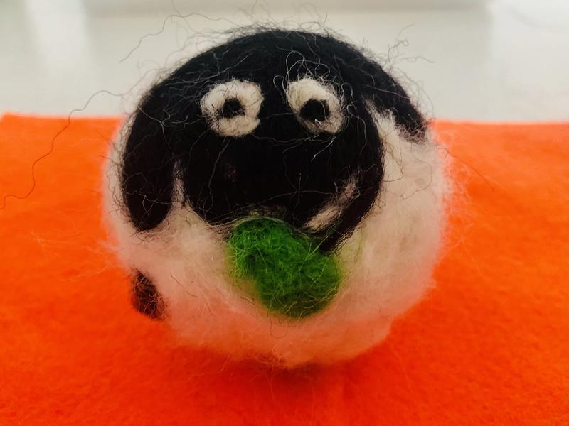 The Wee Art Studio: Online Beginners Spring Sheep Needle Felt Workshop