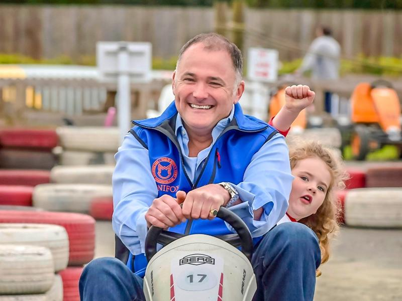 Dads go free at Conifox Adventure Park on Sunday 20th June