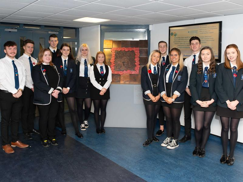 Johnstone High creates a war memorial to mark former pupils who perished in the Great War