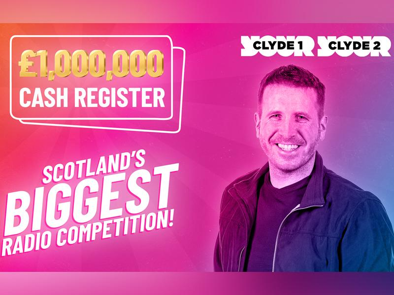 A massive cash prize pot is up for grabs for listeners of Clyde 1 and Clyde 2