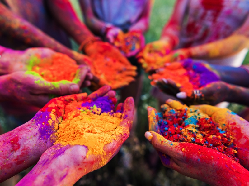 A Happy Holi!