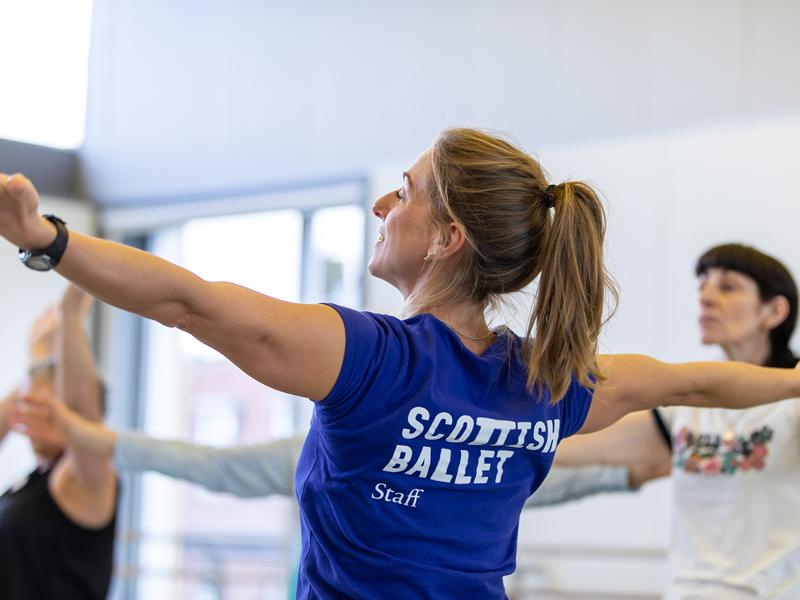 Scottish Ballet delivers new self care workshops for health and social care staff in Scotland