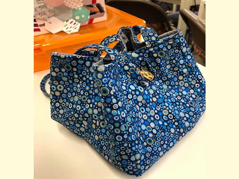One Piece Bag Sewing Class for Beginners