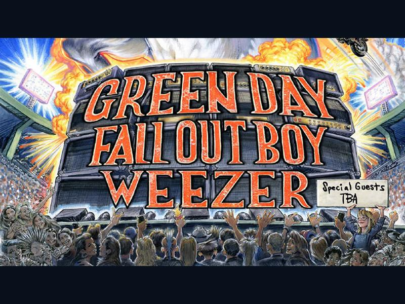 The Hella Mega Tour: Green Day + Fall Out Boy + Weezer