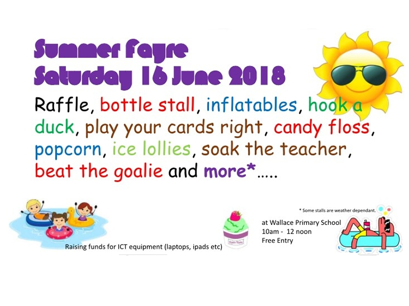 Wallace Primary School and Nursery Summer Fayre