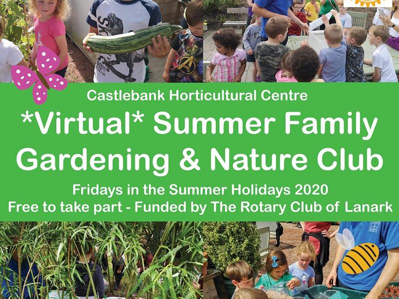 Virtual Summer Family Gardening and Nature Club
