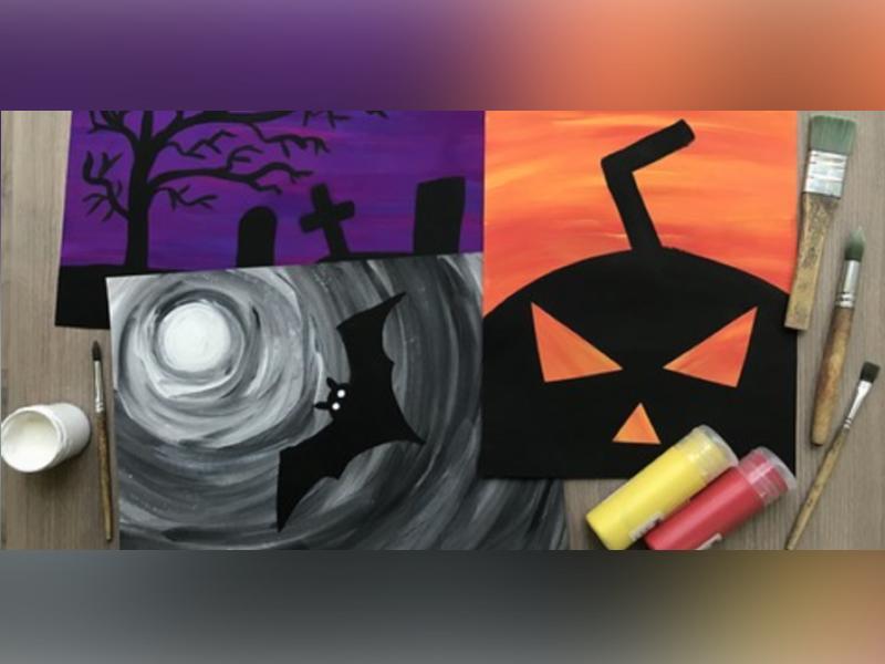 Halloween Art Class for Kids