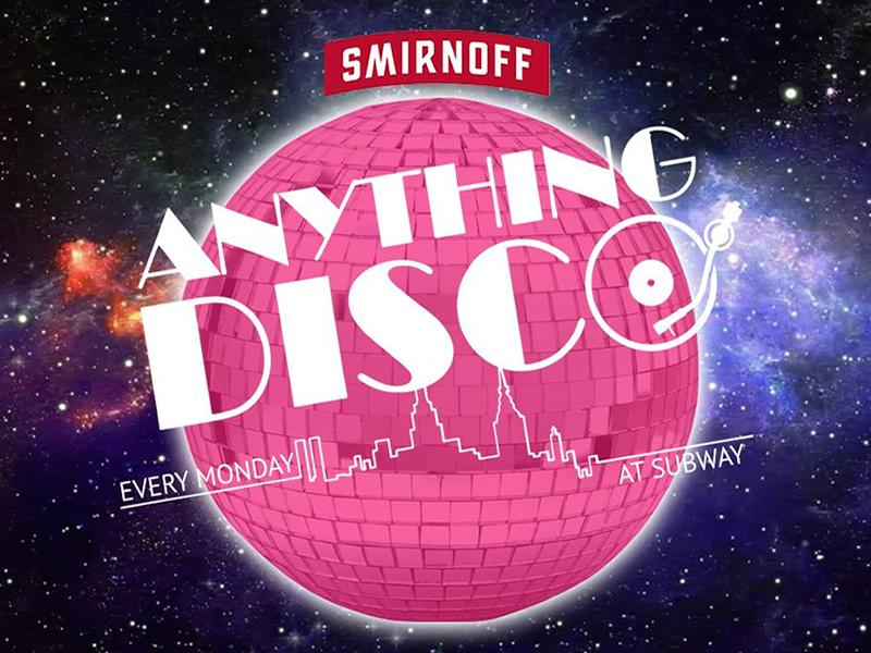Anything Disco Mondays