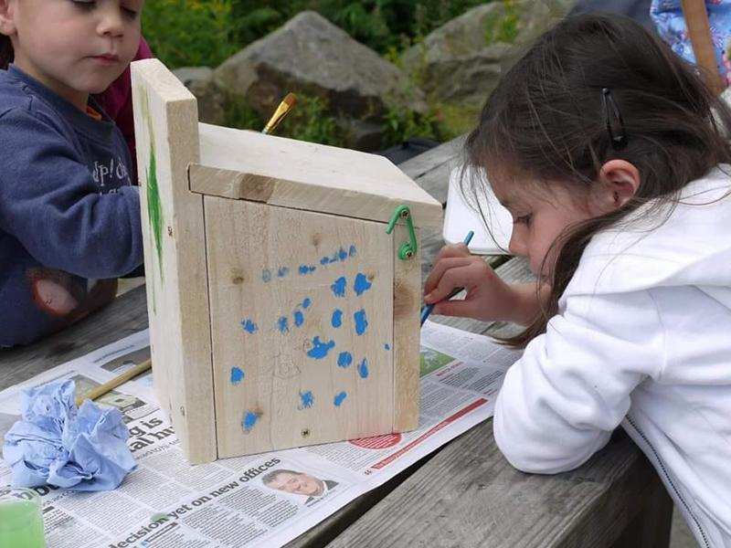 Summer Family Nature Club: Build your own Bird Box
