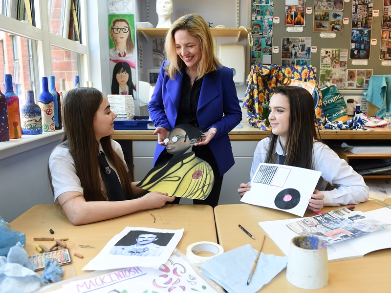 Hillhead pupils have designs on Mackintosh prize