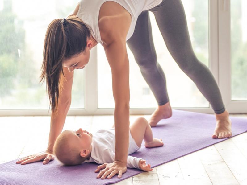 Bébé Serenity Baby Yoga - New Block