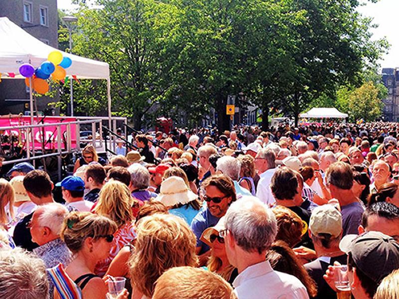 Edinburgh Jazz and Blues Festival:  Mardi Gras at Grassmarket