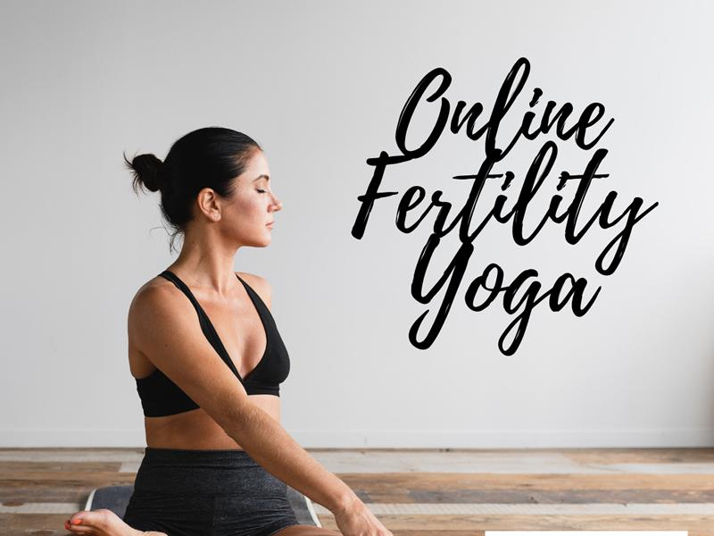Online Fertility Yoga