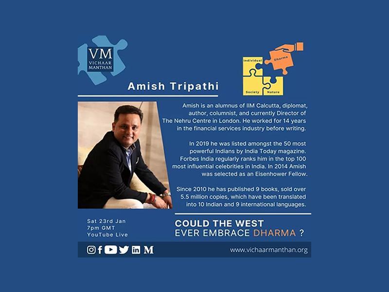 HSS Edinburgh Shakha - Vichaar Manthan - Amish Tripathi