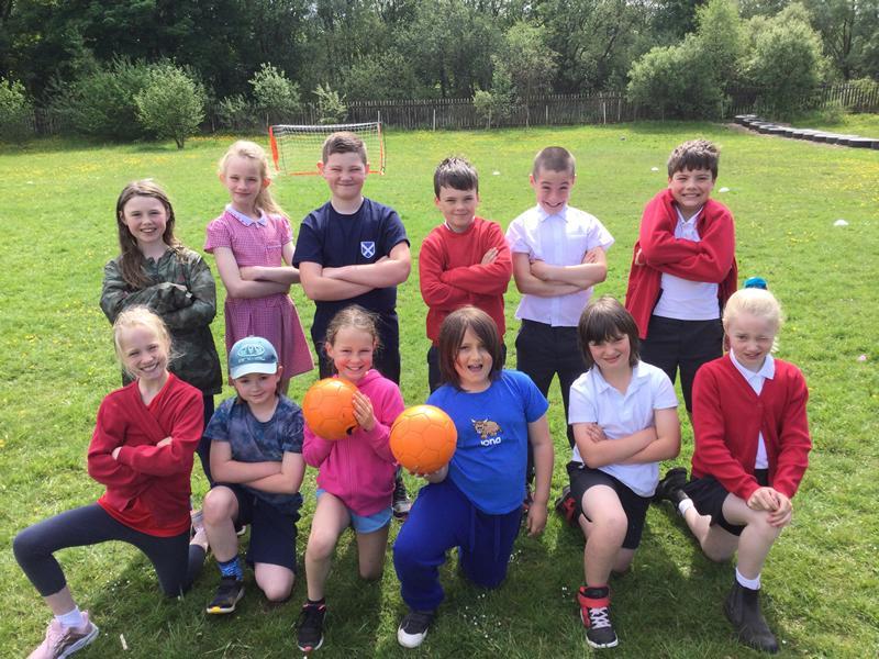 East Renfrewshire pupils score football fun
