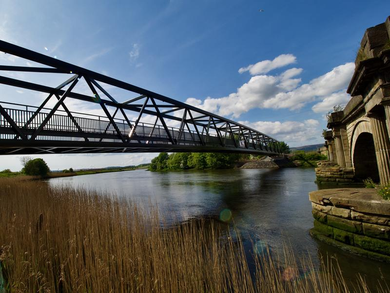New bridge brings big benefits for cycling and walking in Renfrewshire
