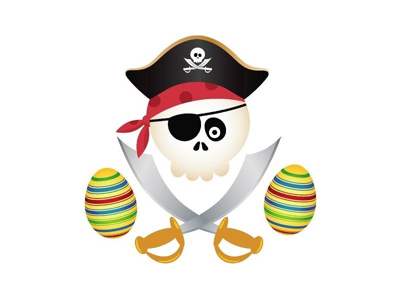 Pirate Easter Egg Treasure Hunts!