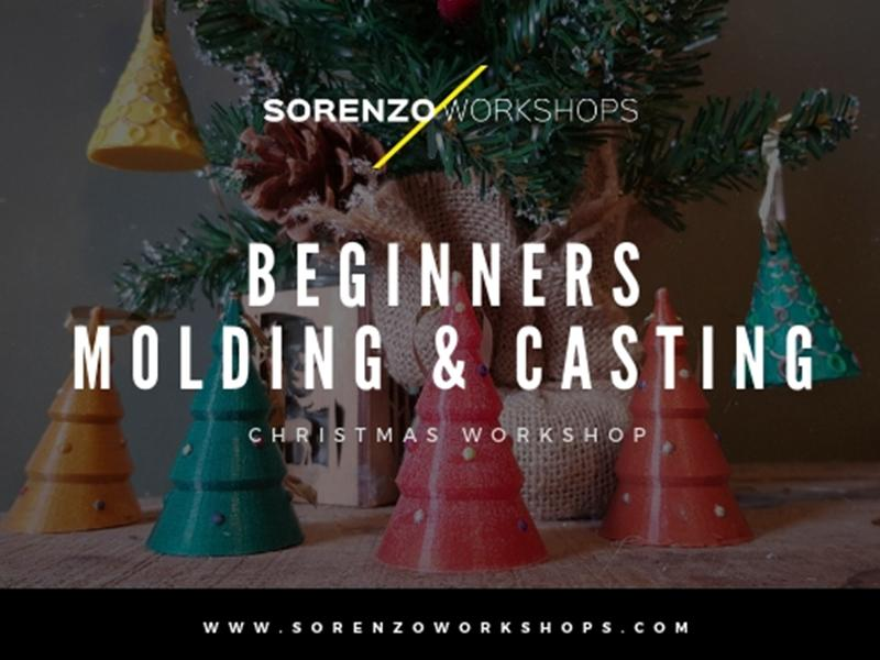 Christmas Workshops - Beginners Molding and Casting
