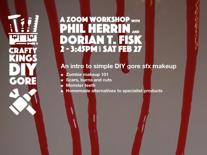DIY Gore SFX Makeup - A Zoom Workshop