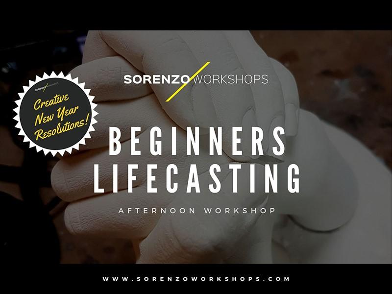 Beginners Life Casting - Creative New Year Resolutions