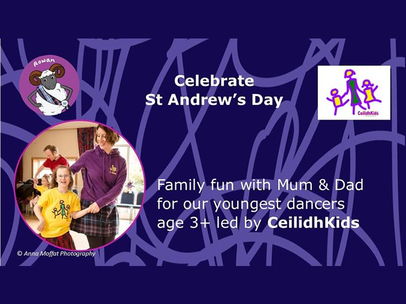 Dance Scottish on St Andrew's Day with CeilidhKids