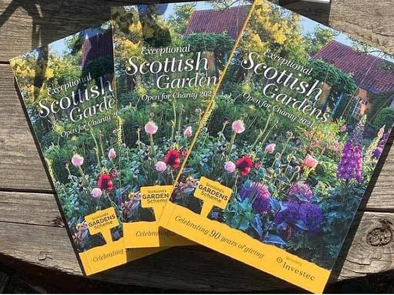 Scotland's Gardens Scheme Open Garden: The Gardens of Glenlockhart Valley