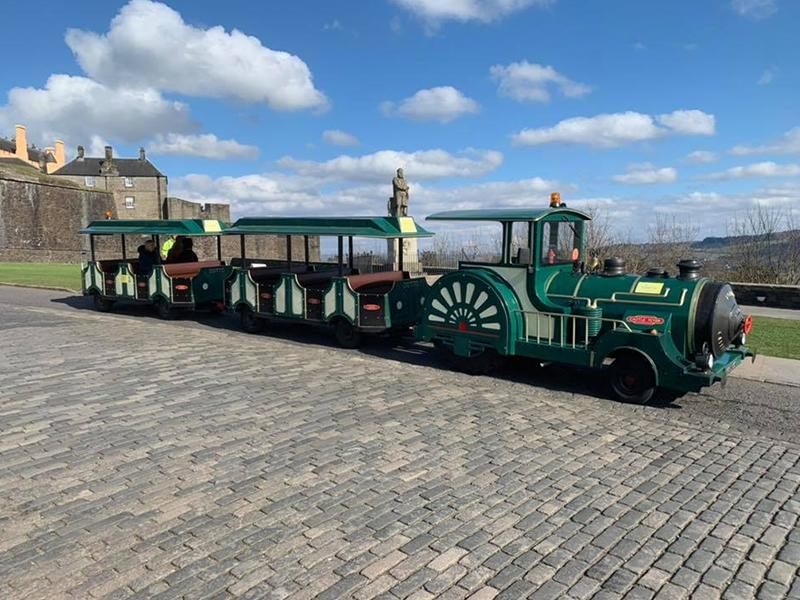 Radio Presenter Broadcasts Show From Landtrain in Bid to Promote Stirling