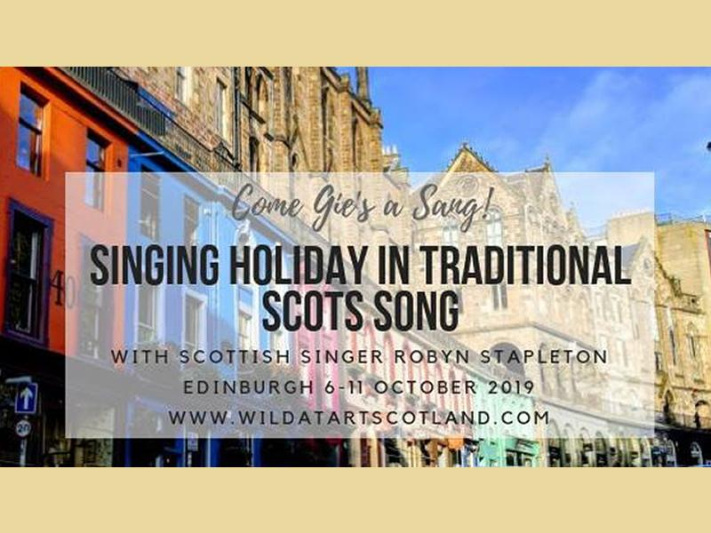 Come Gie's a Sang: Singing Workshop in Traditional Scots Song