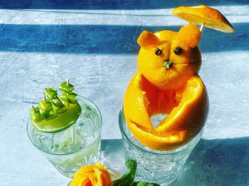 Citrus Session Garnish Class