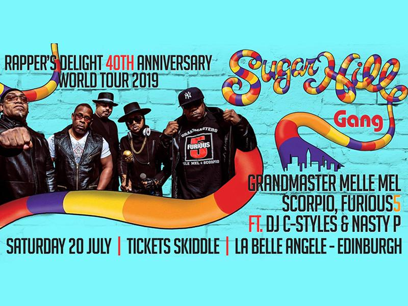 Sugarhill Gang with Grandmaster Melle Mel and Scorpio